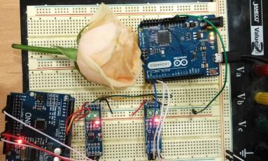 arduino uno dan leo - RS485 (abaikan bunga)